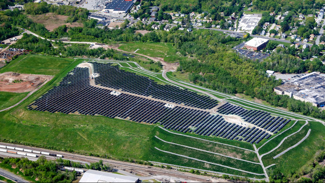 worcester landfill solar project