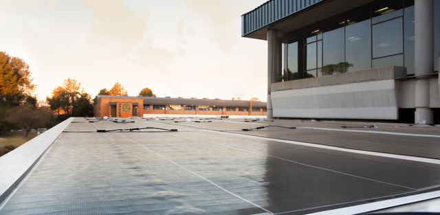 BASF solar roof