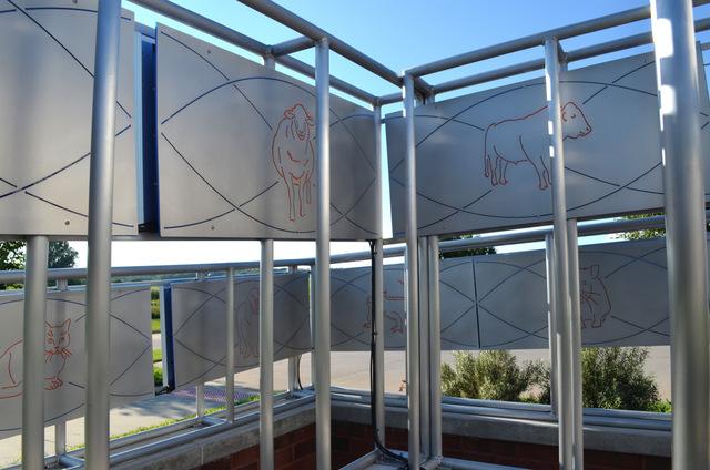 solar labyrinth PV