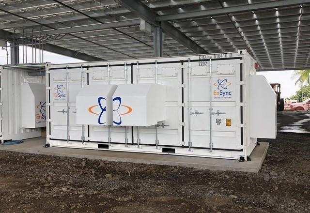 Ensync Hawaii solar storage
