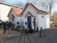 Solar installed to power these homes for homeless women veterans in New York