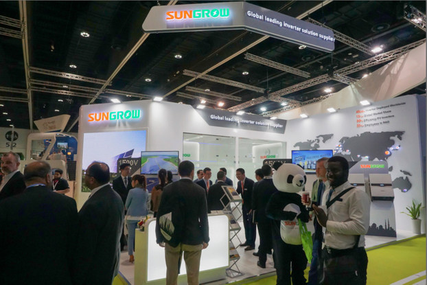 Sungrow-booth-at-WFES-2018