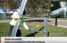 Watch: How a single person can install Schletter's G-Max fixed tilt racking