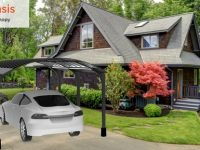 Check out this simple new solar canopy from startup Renewz