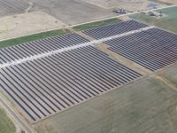 10-megawatt (AC) solar power plant in Covington, Oklahoma (PRNewsfoto/SunPower Corp.)