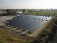 Caterpillar dealer commissions 500-kW solar demonstration project for Illinois Municipal Electric Agency