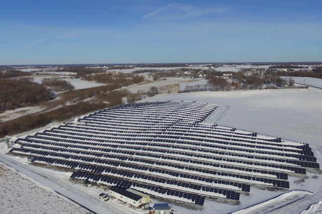 GP JOULE 2.7MW Project in Lake Waconia, MN