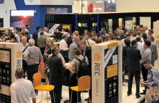REC Group shows off new N-Peak solar panel at Intersolar Europe