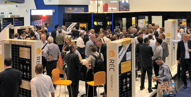 REC N-Peak Lauch Event at Intersolar Europe 2018