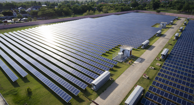 OMCO Solar site installation
