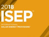 The 2018 International Solar Energy Provisions is ready to order