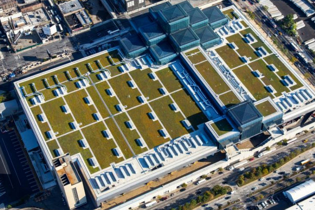 New York Javits Convention solar