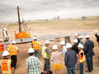 "SunShare Community Solar Garden project in Colorado kicks off with hands-on ""panel-raising"" event"