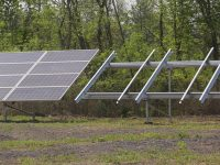 TerraSmart's new TF3L ground-mount is lighter, adds more panels per foundation