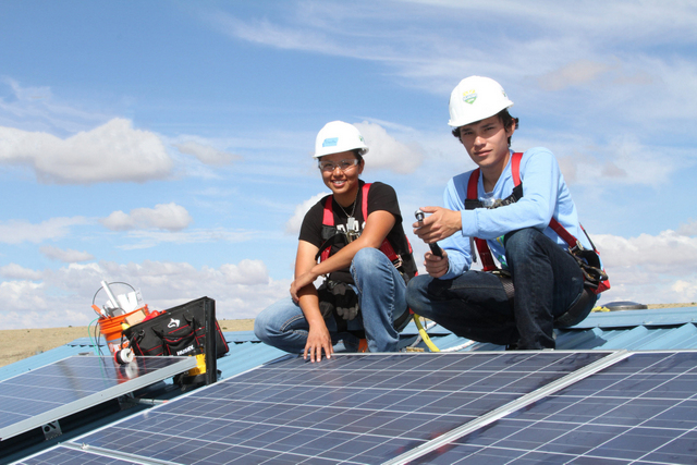 Wells Fargo tribal solar funding