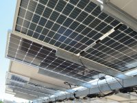 Soltec is testing for all bifacial tracking variables at its new evaluation center in Livermore, Calif.