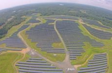 Largest landfill solar project in Maryland completed by EDF Renewables, Solar FlexRack