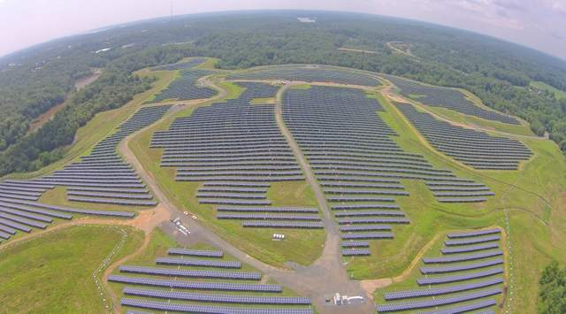solar flexrack landfill maryland