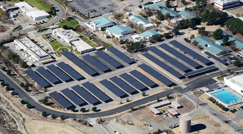 Borrego solar carport