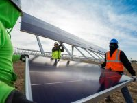 Caterpillar to start selling Cat-branded SunPower solar panels through its distribution network