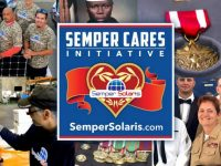 Semper Solaris is giving back to military veterans by donating solar systems via Semper Cares Initiative