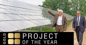 Solar builder project of the year gold