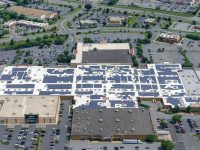 The 2-MW solar rooftop system at Francis Scott Key Mall in Frederick, Md., is Safari Energy's eighth in the state, bringing the total capacity of Safari Energy's commercial rooftop solar systems in Maryland to nearly 10 MW.