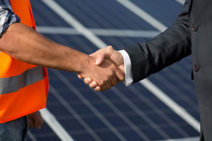solar company acquisition