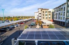 Solar carports in Southern California for Baja Carports.