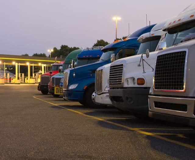 Ensync trucking microgrid