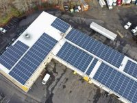 PennFleet Corp's new PV system will cover 100 percent of its energy needs