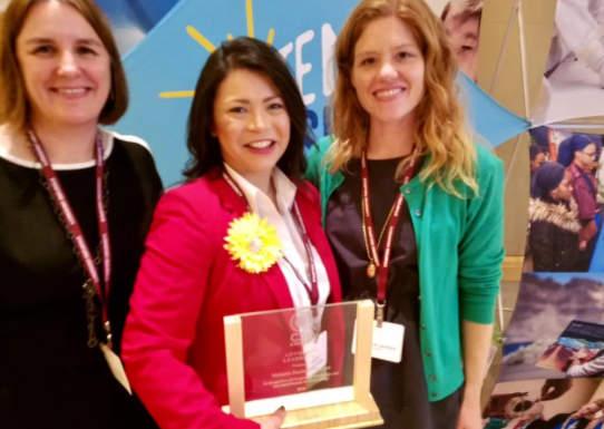 Vote Solar advocacy award