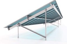 APA Solar Racking reduces component count in its new TITAN Series Racking System