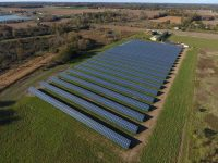 Harvest Energy Solutions solar system installed at Harvest Energy Lenawee in Lenawee County, MI.