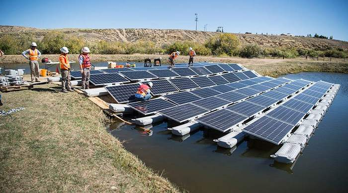 NREL floating PV research