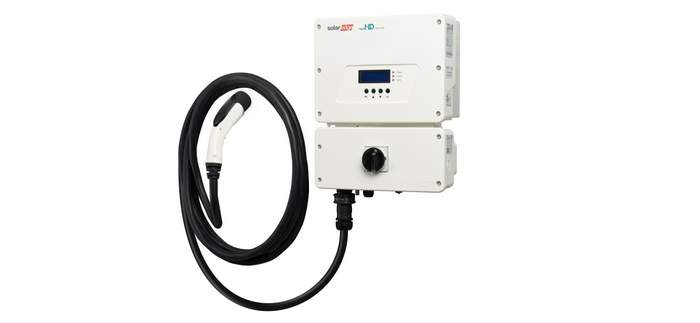 SolarEdge EV charger inverter