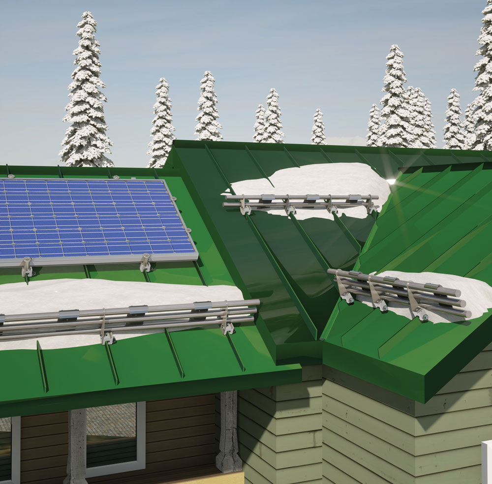 Pv Pointer Safety Tips For Rooftop Solar Panels In Snow