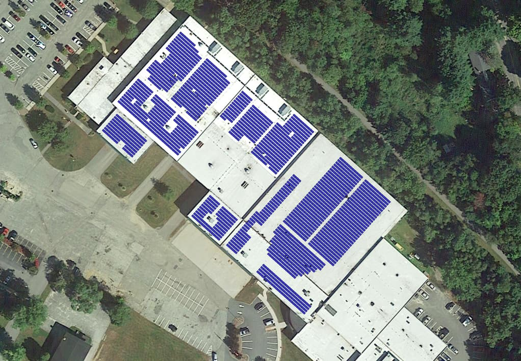 New Hampshire city adds new solar rooftop system, moves toward 100 percent