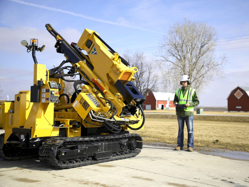 Vermeer PD10R pile driver
