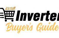 Solar Inverter Buyer's Guide 2021