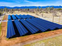 CalCom Energy designed and constructed a 693-kilowatt solar project for Bella Vista Water District in Redding, CA. The solar array reduces electricity costs and carbon emissions by using clean energy to pump water throughout the district. (PRNewsfoto/CalCom Energy)