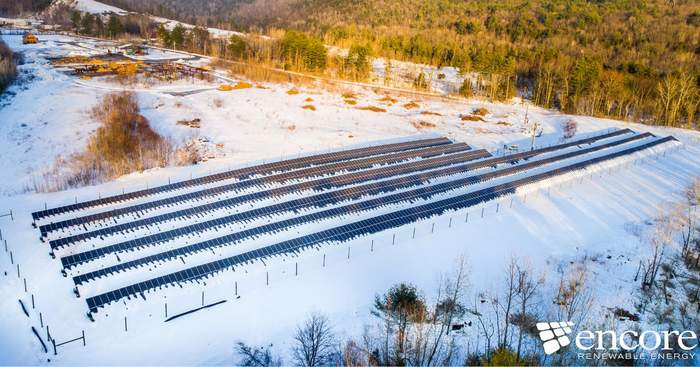 encore renewable community solar long view forest vermont
