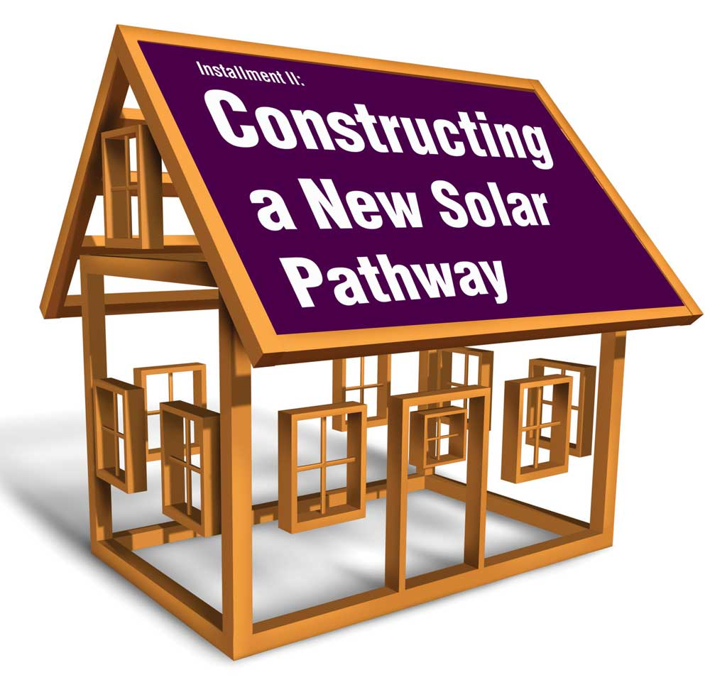 Constructing a New Solar Pathway