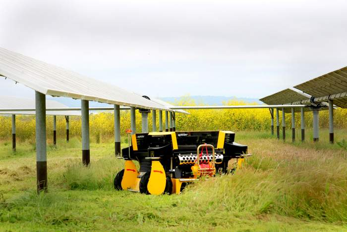 automow solar vegetation maintenance