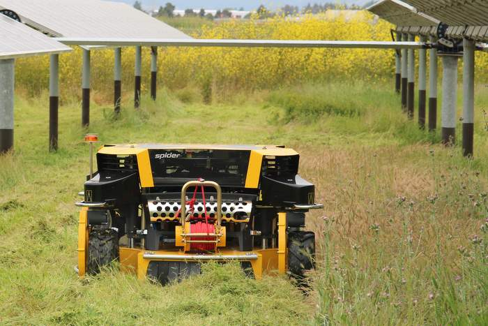automow spider mowing
