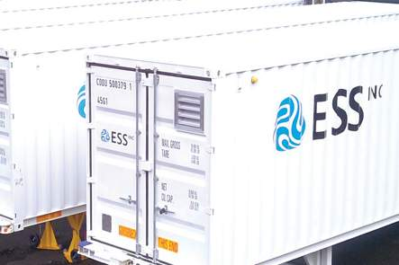 ESS iron flow battery