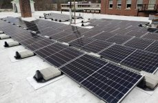 Hanover, New Hampshire adds solar array to roof of town hall