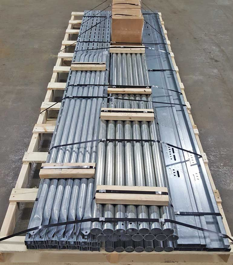 APA Solar Racking Pre-Engineered Kit