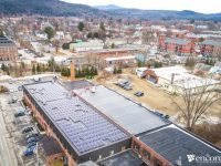 This former silk mill in Keene, N.H., is now part of city's 100 percent renewable electricity goal