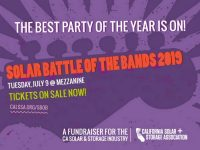 No Intersolar, no problem: Tickets on sale for Solar Battle of the Bands 9 this July